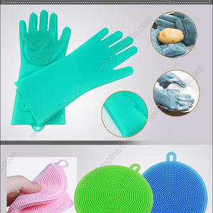 Eco-Friendly Silicone Cleaning Brush Heat Resistant gloves