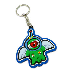 Promotional Custom Silicone Keychains/Silicone Keyrings Ideally Fit for Events