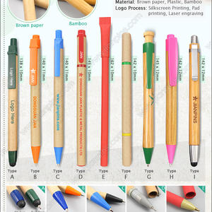 Eco-Friendly Ball Point Pens Environmental Friendly Ball Point Pens
