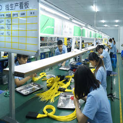 Pach cord assembly line
