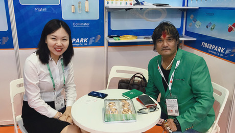 Fiberpark has attend the exhibition  of Communicasia2018 from 26th to 28 June in Singapore