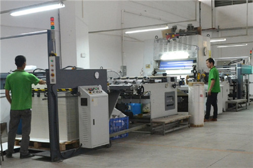 Automatic Laminated Process