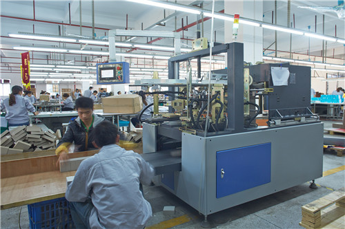 Semi-automatic set up box machine
