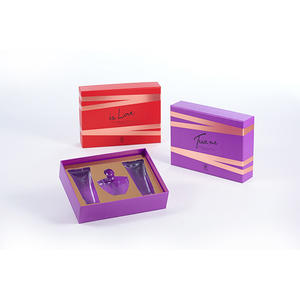 China custom-made luxury cosmetic box supplier