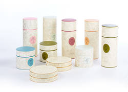 paper candle tubes box