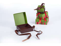 Chocolate Gift Box On Chirstmas