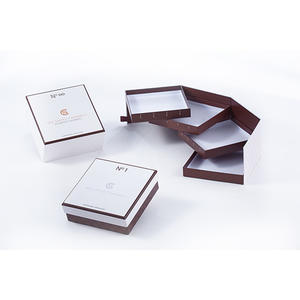 chocolate packaging box, gift box for hand made food,
