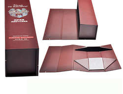 CardBoard Collapsible Folding Wiskey & Wine Box
