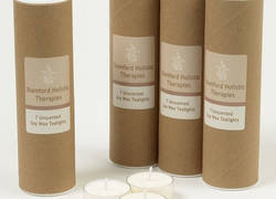 Candle tube box packaging