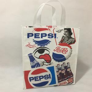 laminated non-woven bag with full color artwork printed,can be heat sealed,sewed