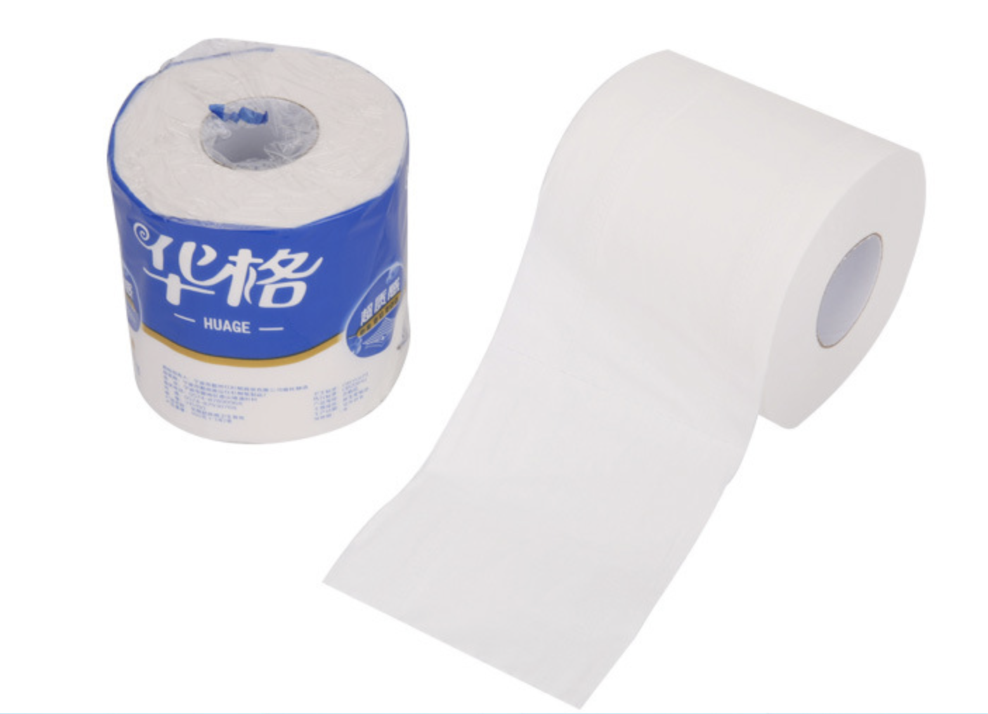 virgin wood pulp 2 ply toilet paper roll 160