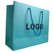pearlized luxury paper bag