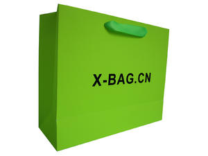 fluorescence color paper bag,art paper bag