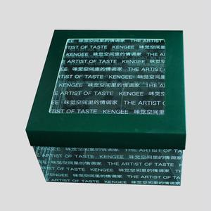 top Quality safe certificated cake box packaging