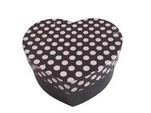 heart shaped gift packing box