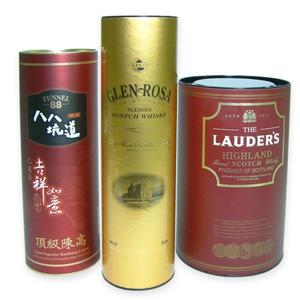 paper packing can for wine, tea,food etc