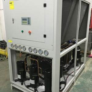 12Ton R410a refrigerant air cooled chiller with Danfoss expansion valve