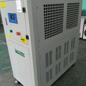 12Ton air to water chiller for hot melt coating machine