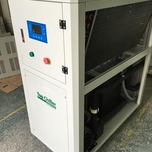 Air Cooled Glycol Type Low Temperature Water Chiller Used For Checmical Processing