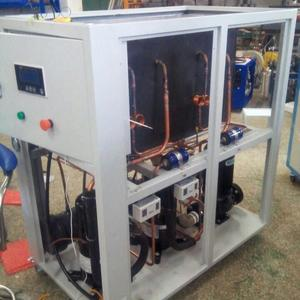 Topchiller brand China water cooling chiller system in Plasma Spray