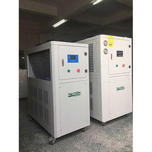 CFC-free refrigerant R407c and R410a air cooled water chiller system