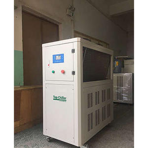 air cooled industrial chiller with danfoss brand scroll type compressor