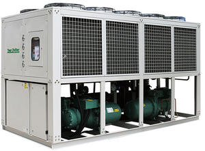 screw type air cooled water chiller with Hanbell brand compressor
