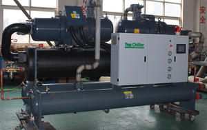 288000Btu/H Mould Cooling Water Cooled Screw Type Chiller Used In Extruder Lines