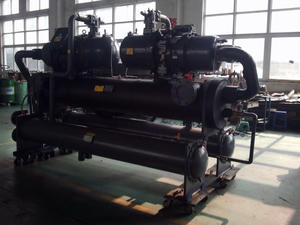 250HP screw water cooled industrial chiller for plastic PET sheet extrusion lines