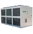 -10C/-15C  78KW air to water cooled glycol chiller for cooling acid liquid