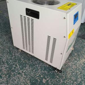 lab testing air cooled water chiller with small cooling capacity from Topchiller China factory price