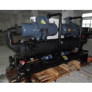 360Tons Screw Type Water Cooled Industrial Chiller Used In Frequency Smelting Furnance