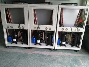 industrial air cooled glycol water chiller factory supplier from Topchiller