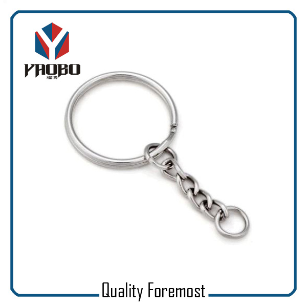 Split Ring With Keychain