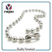 2.4mm Stainless Steel Ball Chain