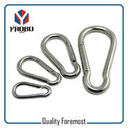 Stainless Steel Carabiner & Snap Hook
