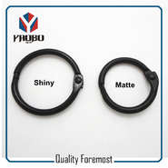 Black Color Binder Ring