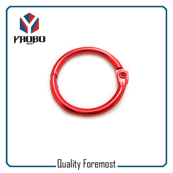 Red Color Binder Ring