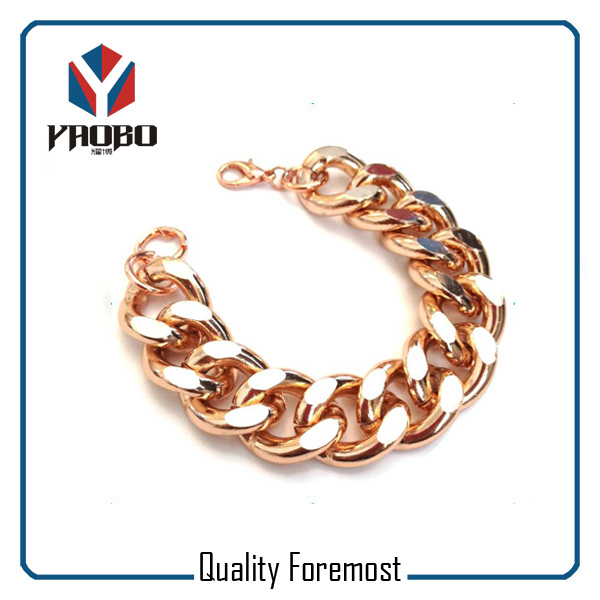Rose Gold Chain For Bracelet