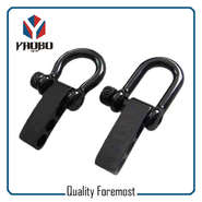 Stainless Steel Black Shackle