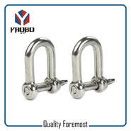 5mm D Shape Shackle