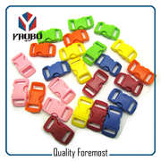 colored plastic buckles