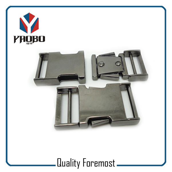 Metal Buckles Gunmetal 25mm Buckles