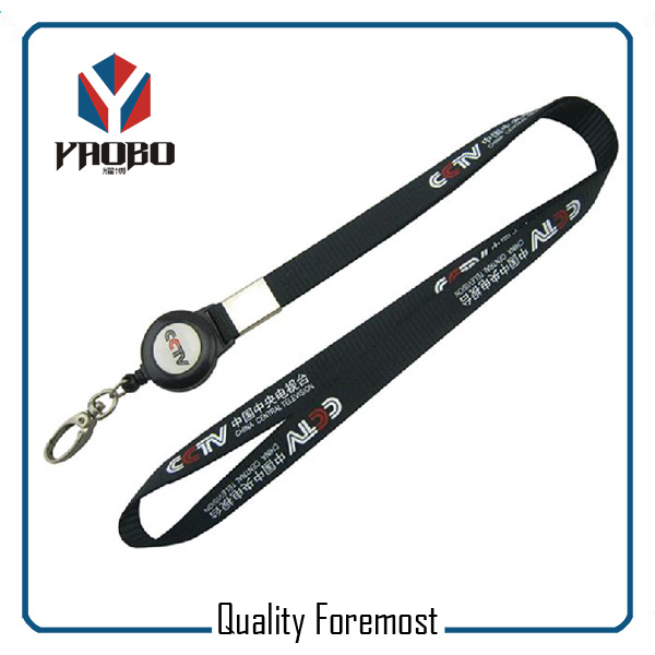 Lanyard With Silver Snap Hook Supplier