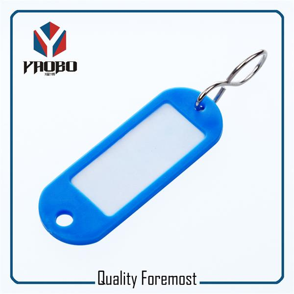 Blue Color Plastic Tags