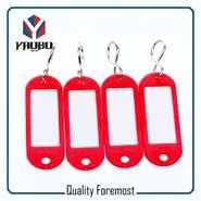 Fashion High Quality Red Plastic Tags