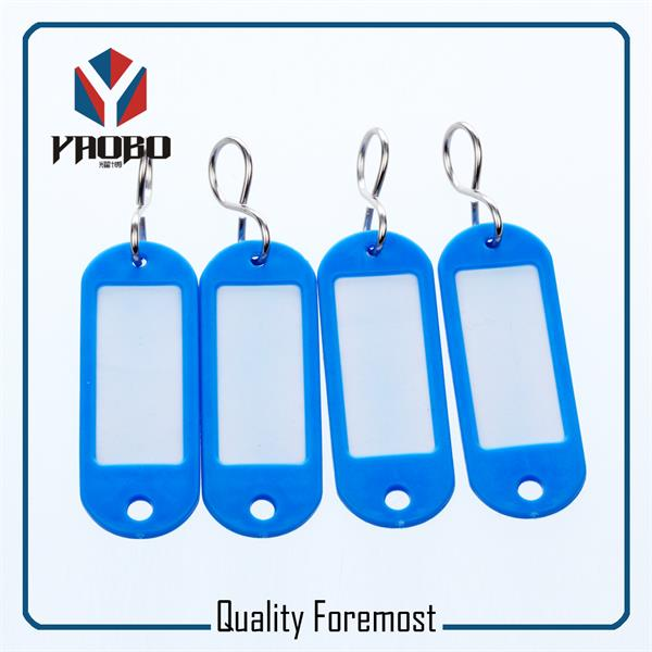Fashion High Quality Blue Plastic Tags