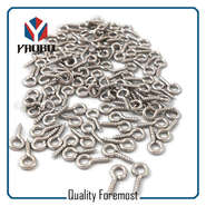 Fashion High Quality Metal Iron Silver Screw