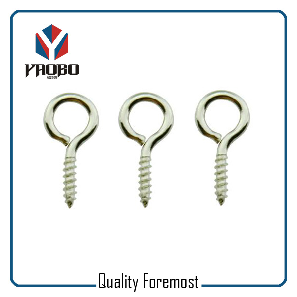 Fashion High Quality Metal Silver Wood Screw