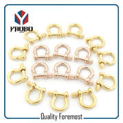 Custom Gold Color shackles,Rose Gold Color Shackles